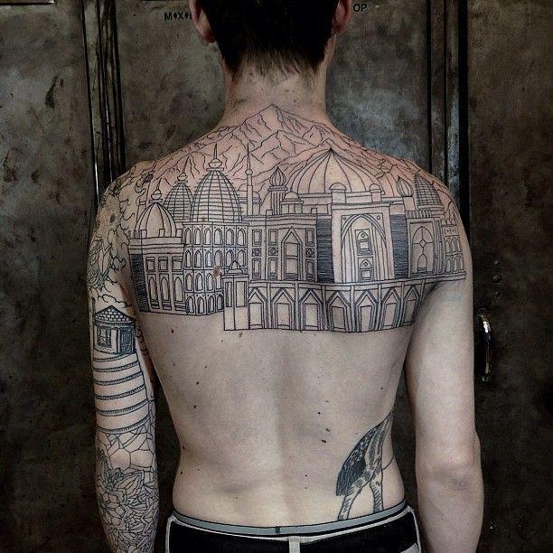 20 Original Tattoos For City Dwellers
