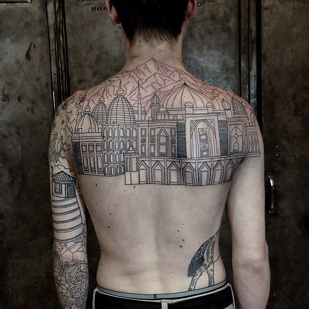 1000 ideas about new york tattoo on pinterest tattoos for Gothic city tattoos