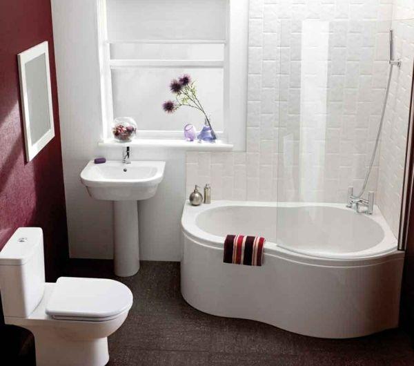 Badewanne für kleines Bad - 22 schöne Ideen - Archzine.net ...