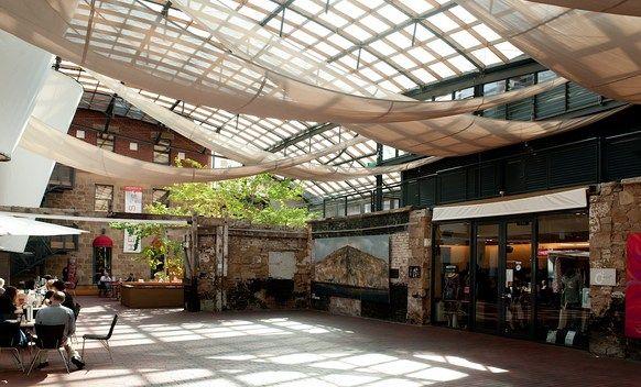 The IXL Atrium  The Henry Jones Art Hotel Hobart Tas