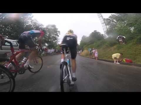 On board camera – Stage 12 (Lannemezan / Plateau de Beille) - Tour de Fr...