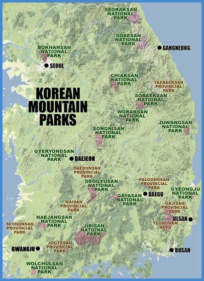A guide to hiking Korea's mountains.