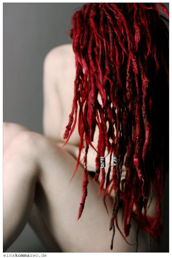 I really wanted to go red with my dreads, but I want to stay all natural! Guess no dye :( :: #dreadstop