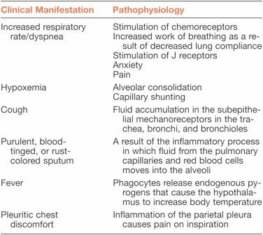 15 best hesi 143 images on pinterest case study nursing schools pathophysiology of selected clinical manifestations of pneumonia fandeluxe Gallery