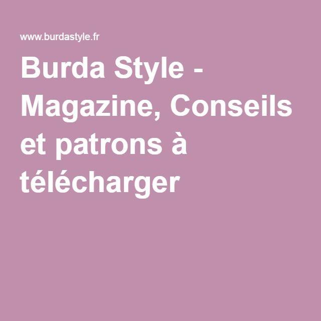 Burda Style - Magazine, Conseils et patrons à télécharger