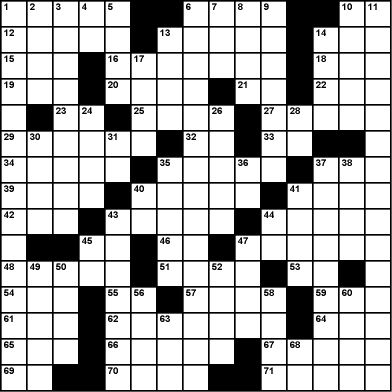 Motown Music History & Facts Crossword Puzzle Game
