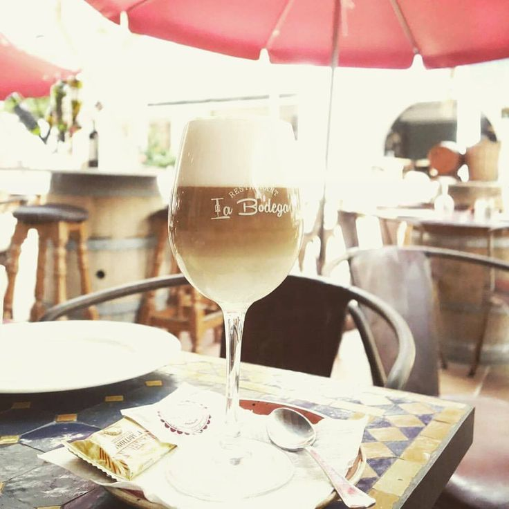 Coffee Time!! #wine #and #tapas #labodega #mallorca #spain #calador #foodforfoodies #foodlovers #foodporn #barista #taverna