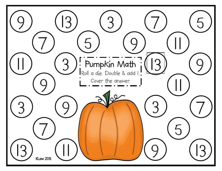 Pumpkin Math Games For Kindergarten - granny goes to school september 2012pumpkin patch dramatic ...