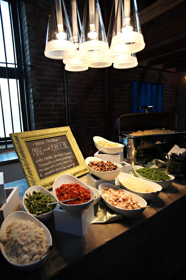 25 best ideas about wedding food stations on pinterest for Wedding bar ideas