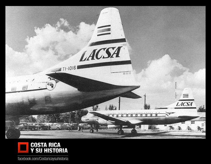 El Convair CV340 TI-1016 originalmente fue destinado para Mexicana, fue almacenado durante un año, tras no retirarse es vendido a la filial de Pan American en Costa Rica, Lineas Aéreas Costarricenses S.A. (LACSA).