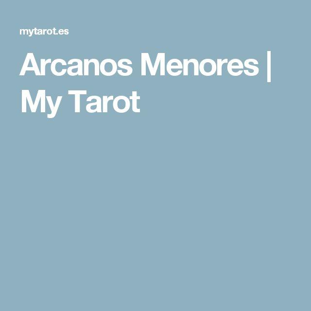 Arcanos Menores  |   My Tarot