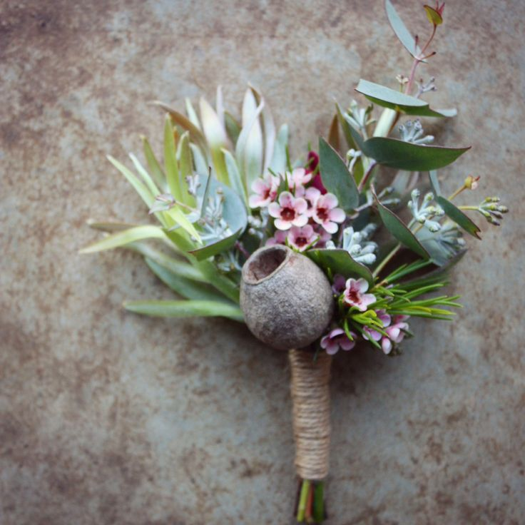 boutonniere native flowers - Google Search