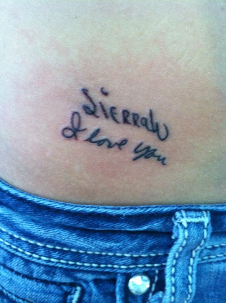 My new tattoo, in memory of my grandparents. Had it done