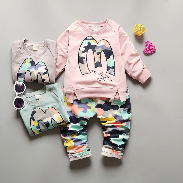 >> Click to Buy << New Spring Autumn Baby Sport Suit 0-24M Baby Boys Girls shirt+Camouflage trousers 2pcs Clothes roupa de bebe SKB31 #Affiliate