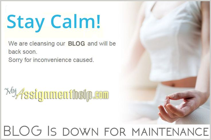 MyAssignmenthelp.com BLOG is going through a cleansing session! We will be back all refreshed, Very Soon!!