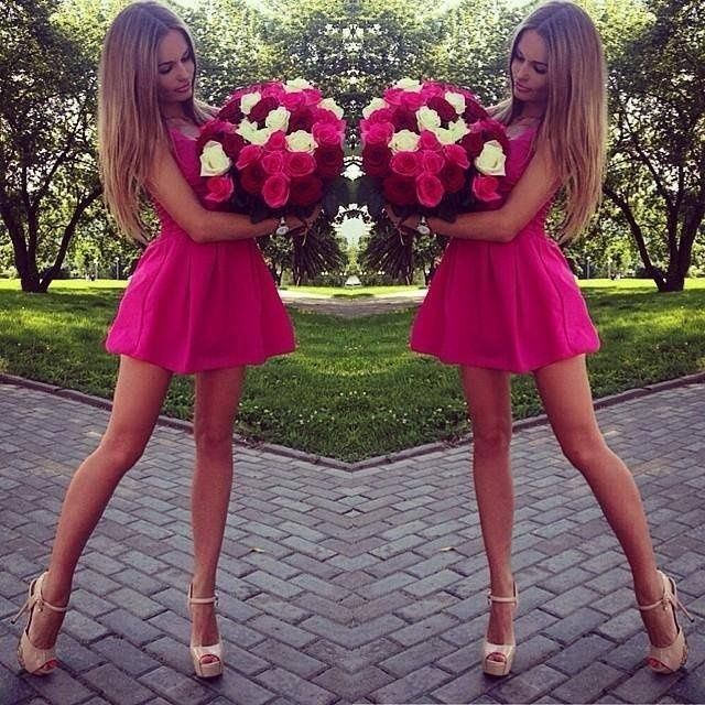 Roses <3 #fashion #beauty #fit #shoes #hair #dress #legs #roses