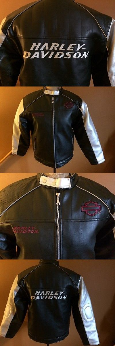 Other Unisex Clothing and Accs 167905: Harley Davidson Faux Leather Moto Motorcycle Jacket Size Large L -> BUY IT NOW ONLY: $65.9 on eBay!
