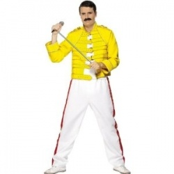 Would you like to buy Freddie Mercury costume? You can buy it here, but first take a look at why this costume is a good choice. This Halloween...