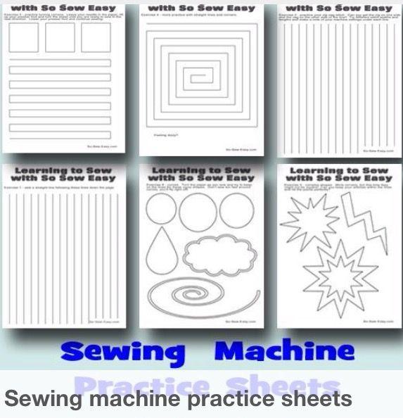 basic sewing machine lessons