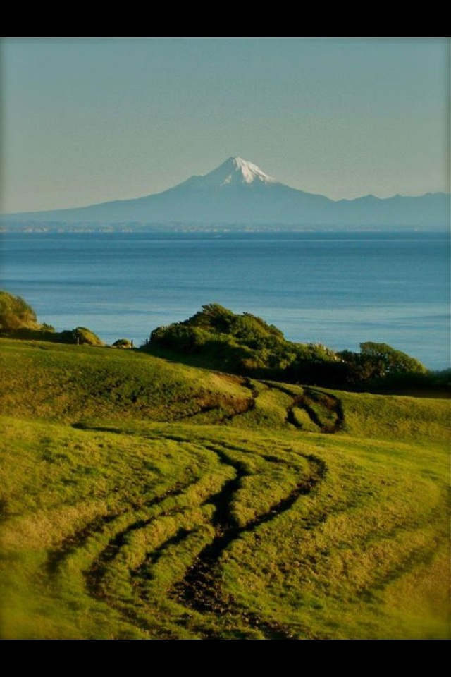 from the farm: mount #taranaki in NZ