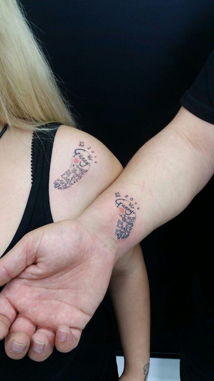 Bodrum tattoo bodrum dövme footprint tattoo baby tattoo couple tattoo family tattoo son tattoo tiny tattoo small tattoo foot tattoo turan baran body art ink tattoo cift dovmesi