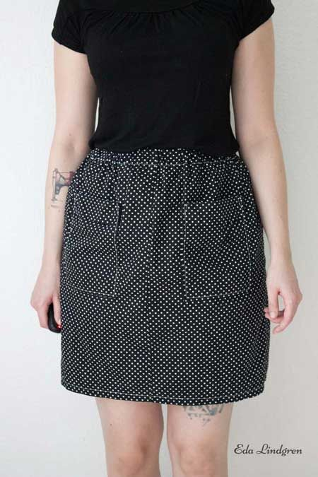 Laura's Dominique skirt - sewing pattern by Tilly and the Buttons
