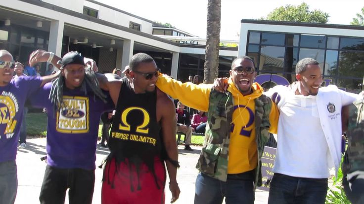 Beta Sigma Chapter of Omega Psi Phi Yard Show Fall 2013