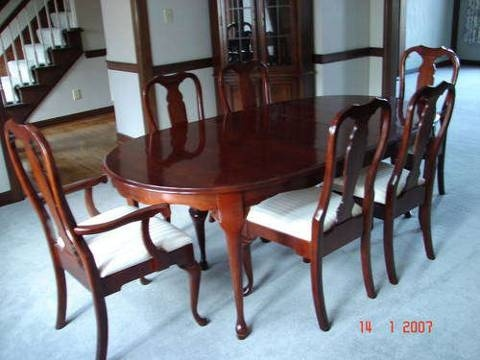 My Dining Room Set Pennsylvania House Hallmark Solid Cherry Table Furniture Home Decor Pinterest Sets And