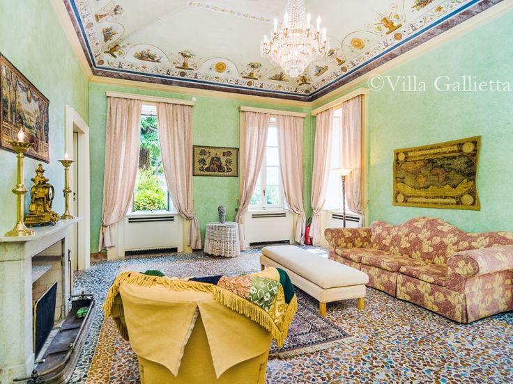 Main Sala - Villa Gallietta | Como #lakecomoville