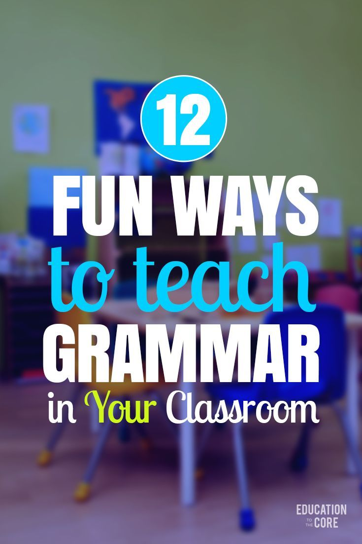 teaching grammatical number and notes This blog will outline 6 teaching techniques you should know a number of different teaching techniques and correct grammatical errors that they.