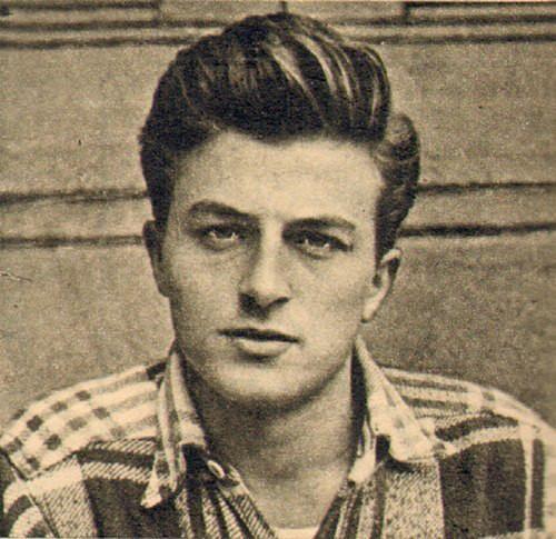 Zamanın Avrupalı aktörlerine taş çıkartan bir yakışıklı; Müşfik Kenter! 1953.