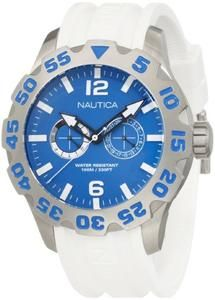 Nautica Men's N16612G Bfd 100 Multi Watch
