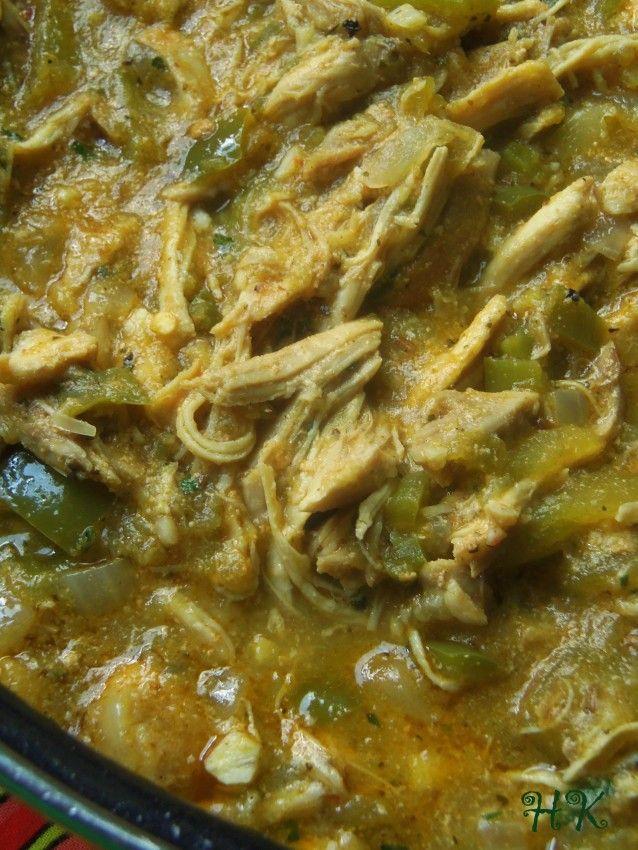 Chicken Chile Verde HispanicKitchen.com