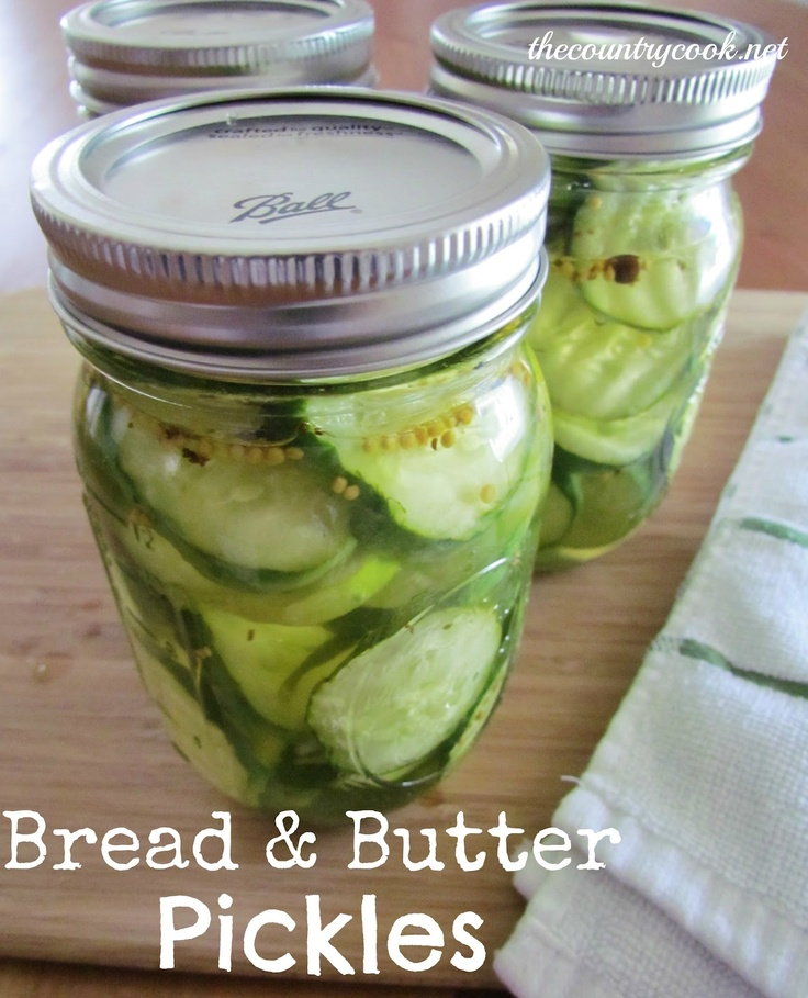 Bread & Butter Pickles {so much easier to make than you think!}