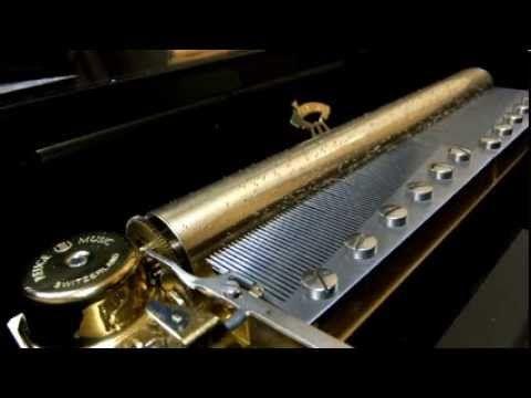 リュージュオルゴール144弁 パッヘルベルのカノン REUGE Music box Canon Pachelbel
