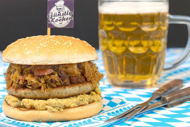 Wiesn Burger #burger #oktoberfest #wiesn