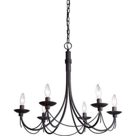 black wrought iron chandelier rustic - Google Search