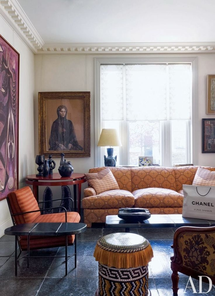 Traditional Contemporary Living Room Decor: 72 Best Jacques Grange Images On Pinterest