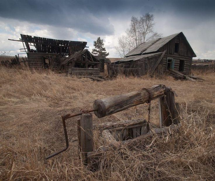 Фото брошенных старых деревень