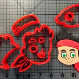 Jake and the Neverland Pirates – Jake Cookie Cutter Set