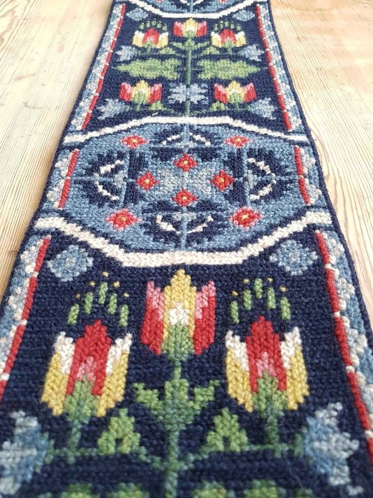 Excited to share the latest addition to my #etsy shop: Lovely twist stitch/needle point wool embroidered folk wall hanging/tapestry from Sweden #homedecor #wooltapestry #wool decor #wool wallhanging http://etsy.me/2D1pghC