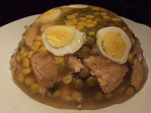 Kulinarna pasja: Łosoś w galarecie