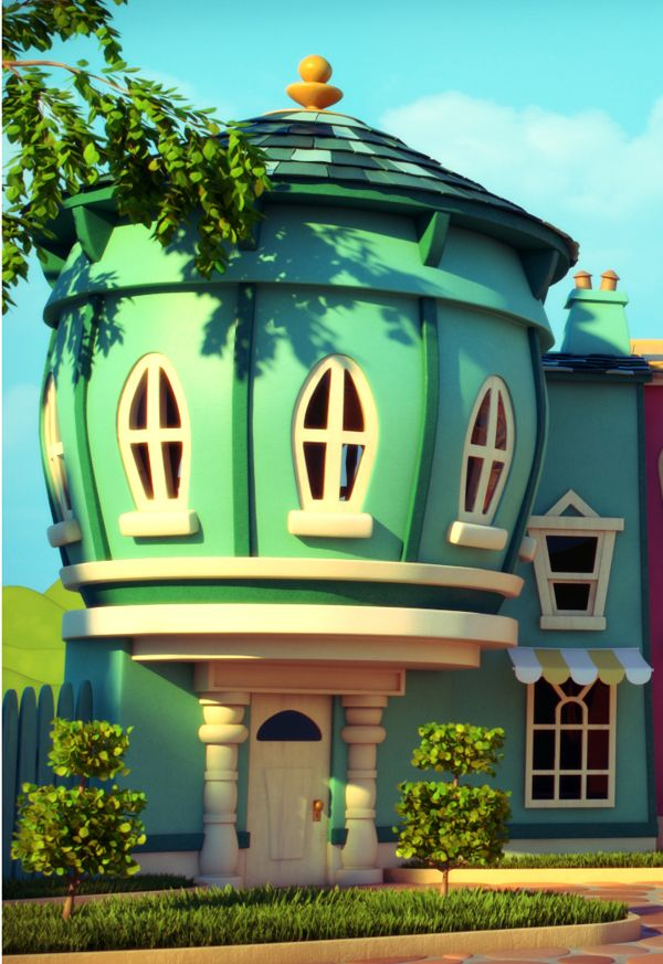 Captivating ToonLand By Victor Castro, Via Behance