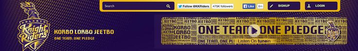 Visit our official website and listen to what Shah Rukh Khan, Juhi Chawla, Venky Mysore, Jacques Kallis, Ryan ten Doeschate, Wasim Akram and Vijay Dahiya have to say regarding their journey so far and memories of the 2012 victory.  http://www.kkr.in/  #OneTeamOnePledge #KorboLorboJeetbo #GoForGold #ISupportKKR