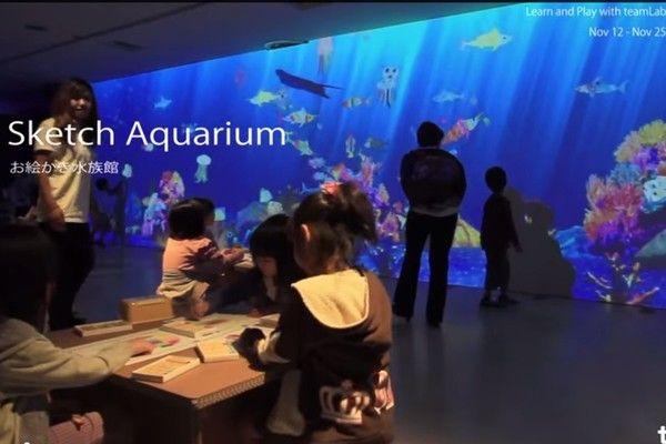 日本創造了全世界最特別水族館 因為裡面每一條魚都是絕無僅有的!