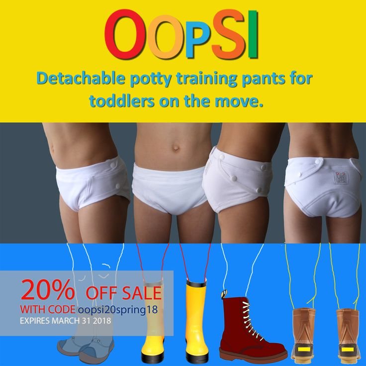 The New Potty Training Pants  Benefits of cloth toilet training underwear: Cloth is more comfortable. Using cloth training pants is quick and EASY. Potty training is easier with cloth underwear. Cloth potty training pants are better for the environment. Toddlers potty train faster in cloth pull-ups. Detachable potty training pants make them easy to clean up any accident. Toddlers are healthier in cloth training pants.