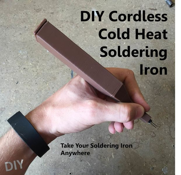 How to make your own cold heat soldering iron.