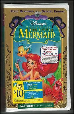 Disney The Little Mermaid Special Edition Masterpiece Collection New Sealed VHS