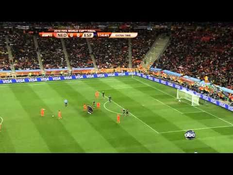 Fifa 2010 Final Match Spain Vs Netherlands - 2nd extra time