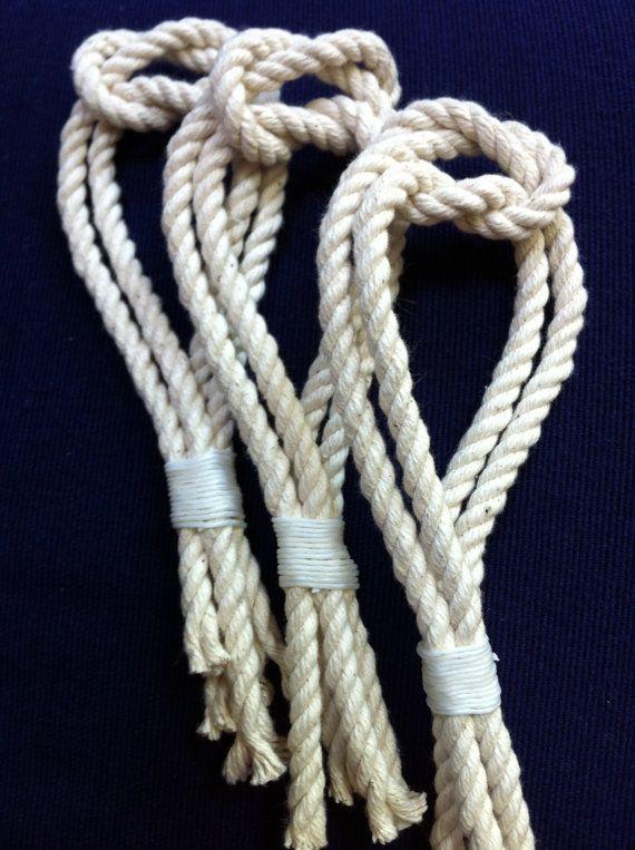 Nautical Boutonniere - Boutonnieres - Nautical Wedding - Rope Lapel Pin on Etsy, $7.33